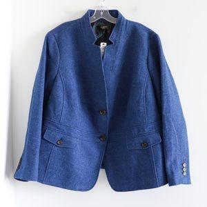 NWT Talbots wool warm blazer jacket plus size 20W